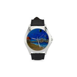 Cosmic Perception Women's Classic Leather Strap Watch(Model 203)