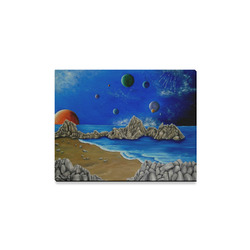 "Cosmic Perception Canvas Print 14""x11"""