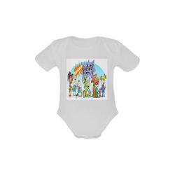 the rugrats Baby Powder Organic Short Sleeve One Piece (Model T28)