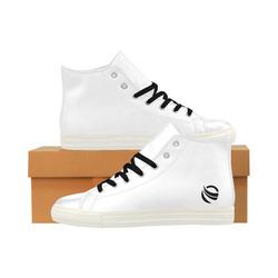 "Galaxy ""Black Symbol"" Aquila High Top Microfiber Leather Men's Shoes (Model 027)"