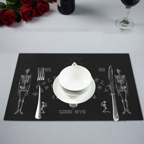 Gothic Ouija Witchboard Placemat 12'' x 18'' (Four Pieces)