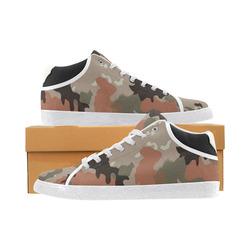 "Camouflage ""Desert"" Men's Chukka Canvas Shoes (Model 003)"