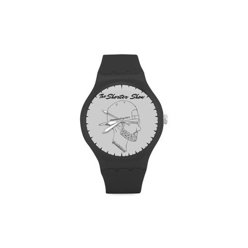 The Shorter Show watch Unisex Round Rubber Sport Watch(Model 314)