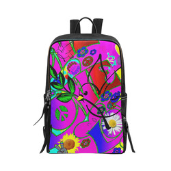"""""""With Love"""" Collection Unisex Slim Backpack (Model 1664)"""