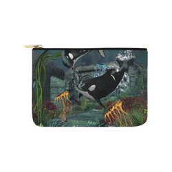 Amazing orcas Carry-All Pouch 9.5''x6''