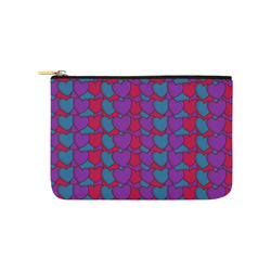 Love Hearts Carry-All Pouch 9.5''x6''