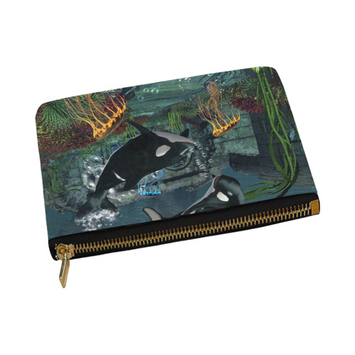 Amazing orcas Carry-All Pouch 12.5''x8.5''