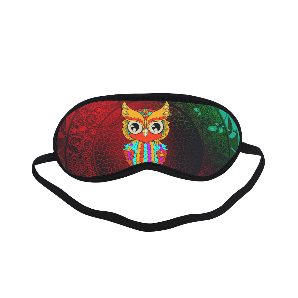 Cute owl, mandala design Sleeping Mask