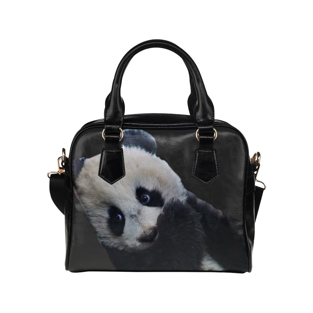 Baby Panda Shoulder Handbag (Model 1634)