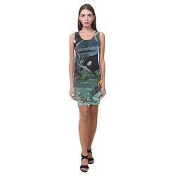 Amazing orcas Medea Vest Dress (Model D06)