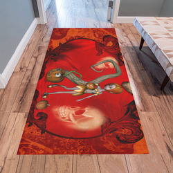 Halloween, pumpkin Area Rug 7'x3'3''