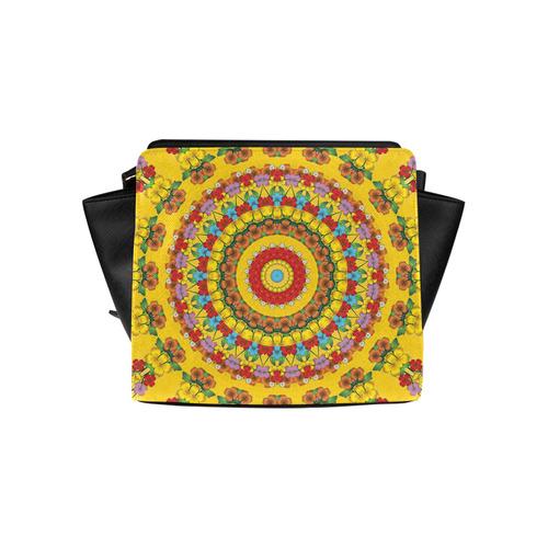 Blooming mandala Satchel Bag (Model 1635)
