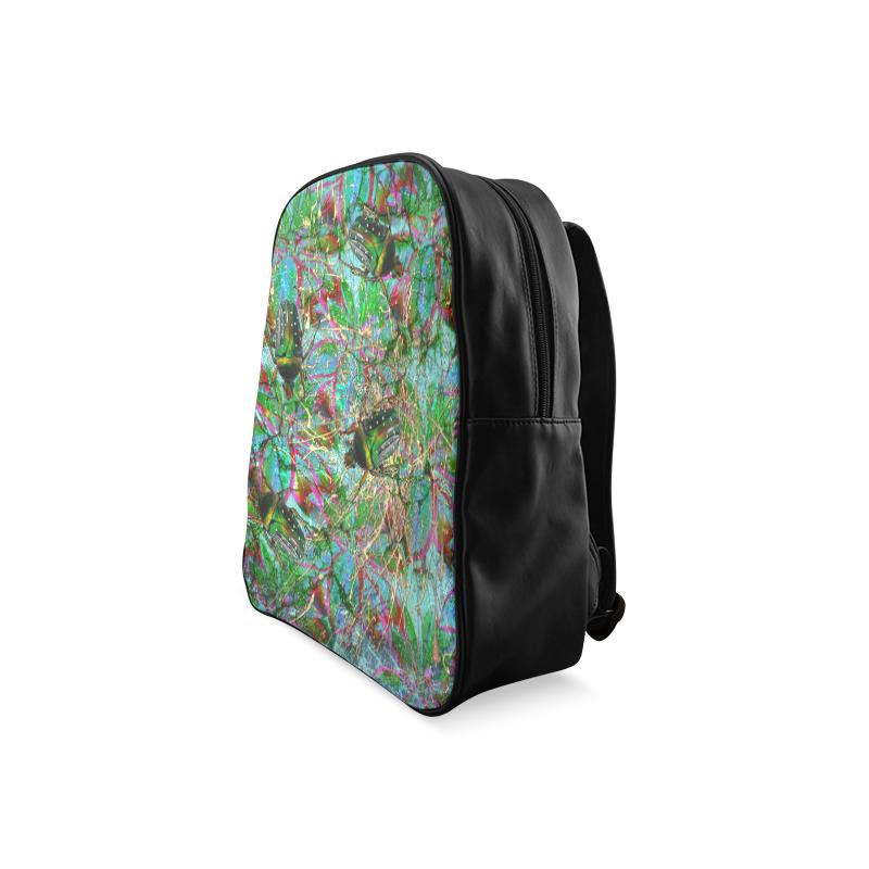 Wandering beautiful beetles School Backpack/Large (Model 1601)