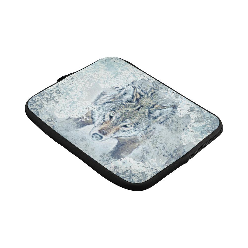 Snow Wolf Laptop Sleeve 11''