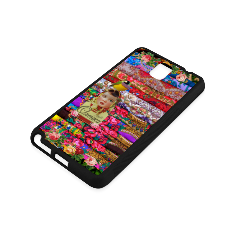 Flower Child Rubber Case for Samsung Galaxy Note 3