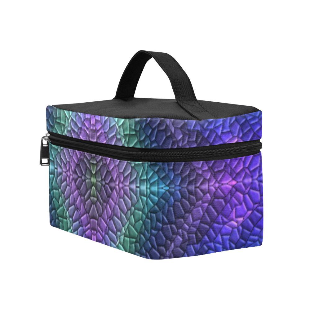 Dragon Skin Cosmetic Bag/Large (Model 1658)