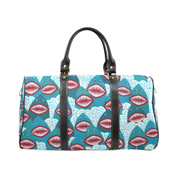 Angry Sharks New Waterproof Travel Bag/Small (Model 1639)