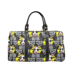 Miss Gothica Sugarskull New Waterproof Travel Bag/Large (Model 1639)