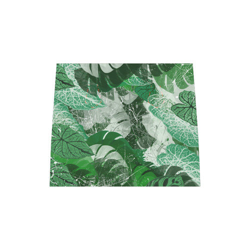 Tropical leaves Boston Handbag (Model 1621)