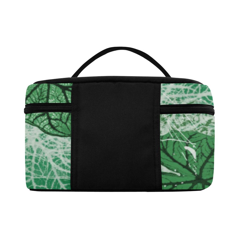 Tropical leaves Lunch Bag/Large (Model 1658)