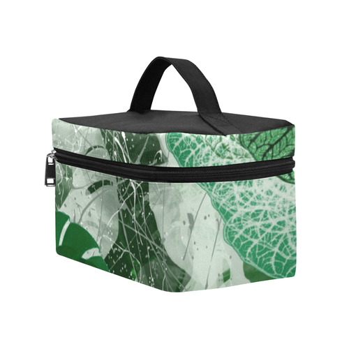 Tropical leaves Lunch Bag/Large (Model 1658)