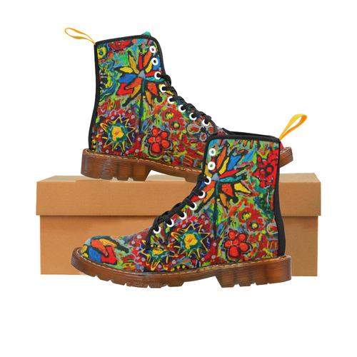 Garden Party 2 Martin Boots For Women Model 1203H