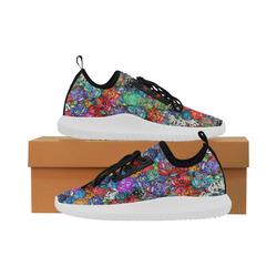 Sugar Skulls - Calaveras Dolphin Ultra Light Running Shoes for Women (Model 035)
