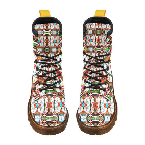 KAN KAN High Grade PU Leather Martin Boots For Men Model 402H