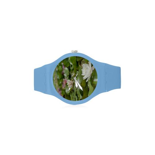 wa45 Unisex Round Rubber Sport Watch(Model 314)
