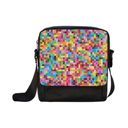Mosaic Pattern 2 Crossbody Nylon Bags (Model 1633)