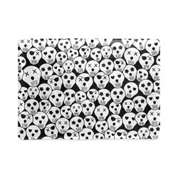 Silly Skull Halloween Design Custom NoteBook A5
