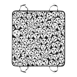 Silly Skull Halloween Design Pet Car Seat 55''x58''