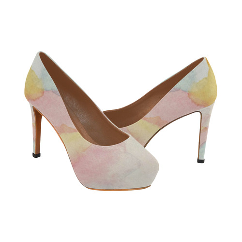 Clouds of a Different Colour Women's High Heels (Model 044)