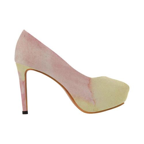Fluorescent Lava Women's High Heels (Model 044)