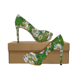 Floral ArtStudio 36A by JamColors Women's High Heels (Model 044)