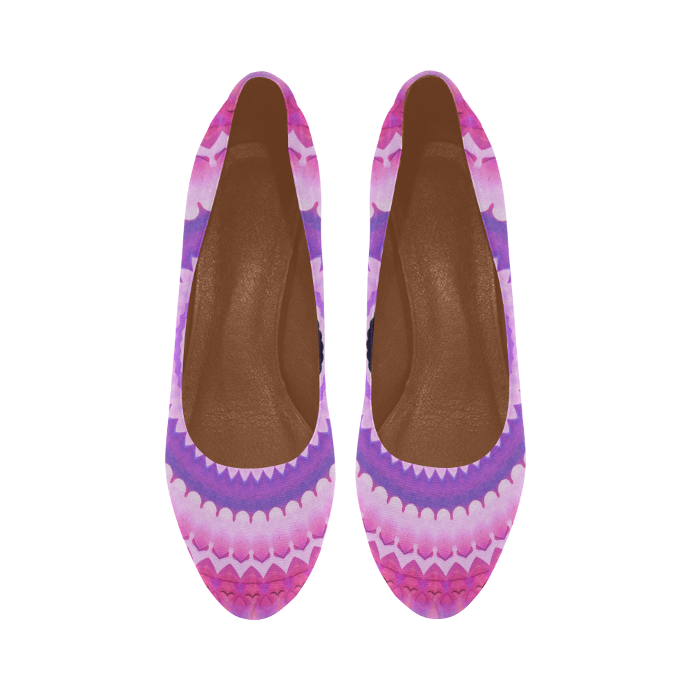 Freshness Energy Mandala Women's High Heels (Model 044)