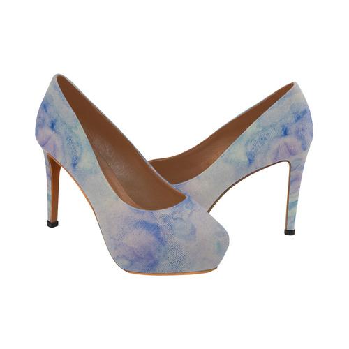 Danse Avec les Fleurs Women's High Heels (Model 044)