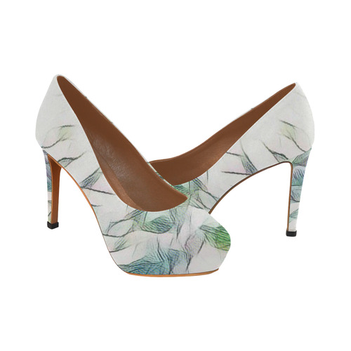 Soft Autumn Colors Women's High Heels (Model 044)