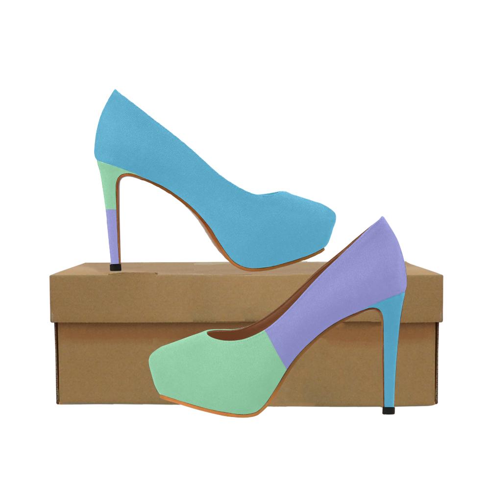 Minty Women's High Heels (Model 044)