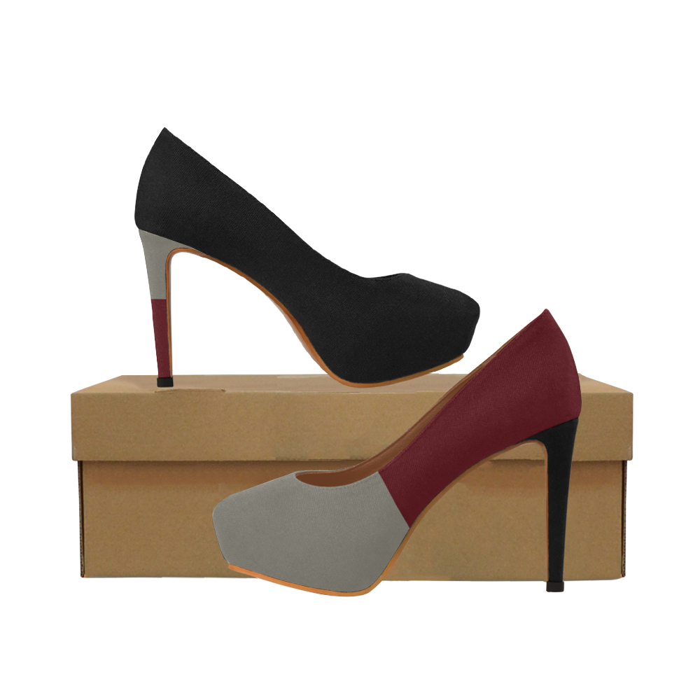 Stepping Out in Style Women's High Heels (Model 044)
