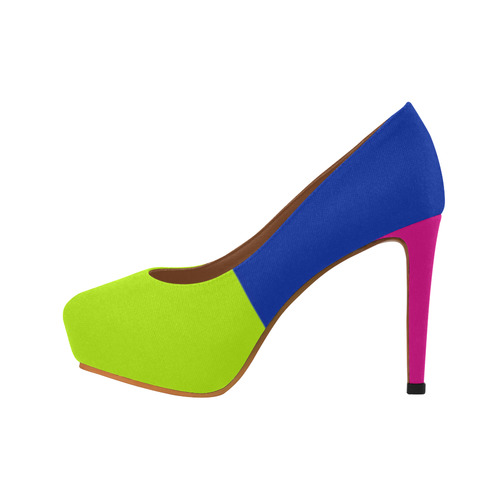 Retro Blast Women's High Heels (Model 044)