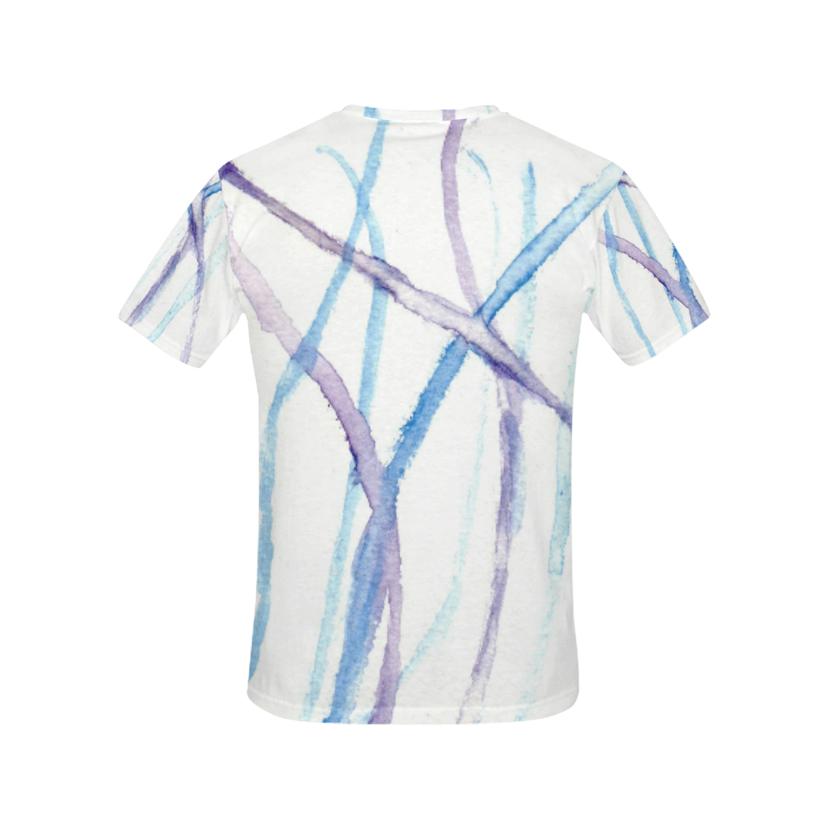 Lines All Over Print T-Shirt for Women (USA Size) (Model T40)