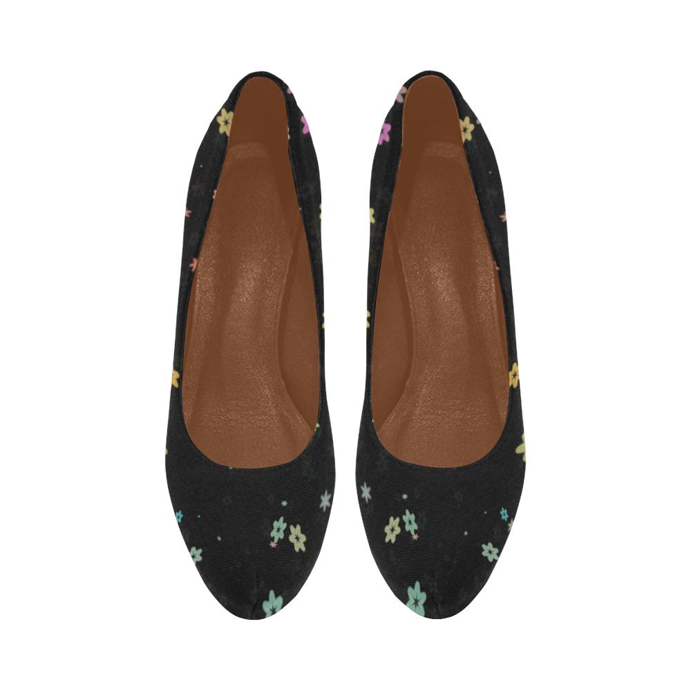 flowers Women's High Heels (Model 044)