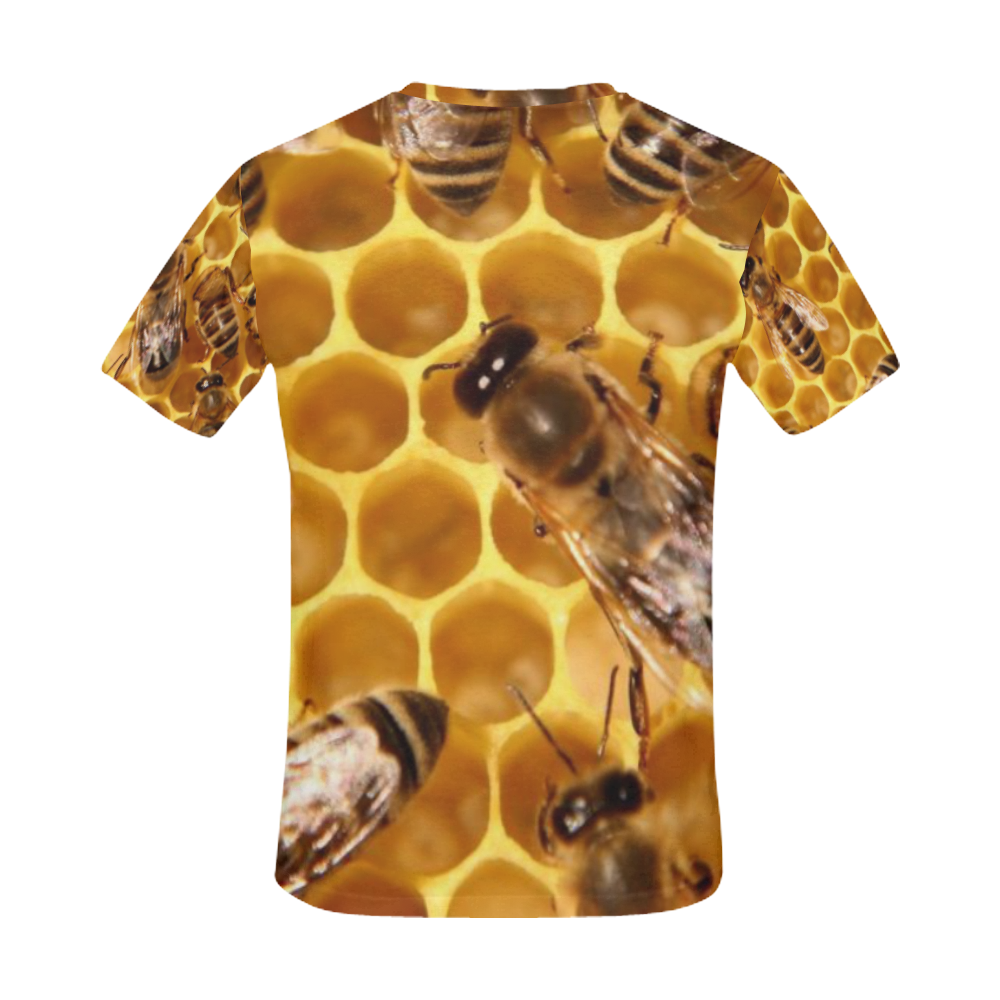 Beez Bees T-Shirt All Over Print T-Shirt for Men (USA Size) (Model T40)