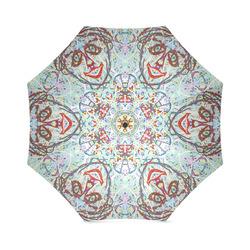 Thleudron Women's Chandelier Foldable Umbrella (Model U01)
