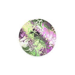 awesome fractal 35D by JamColors Round Coaster
