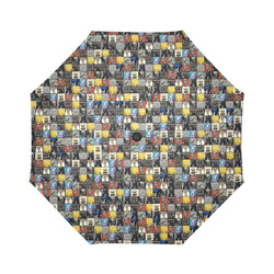 Rolling Stones Albums Auto-Foldable Umbrella (Model U04)