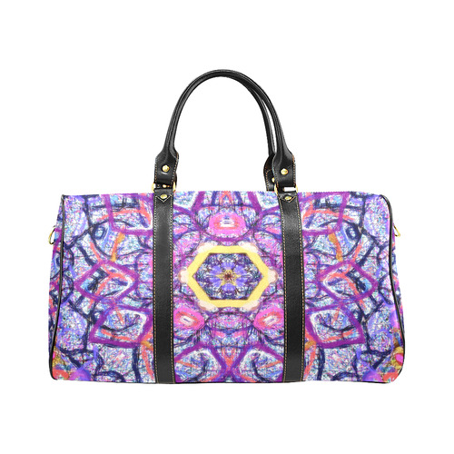 Thleudron Women's Royalty New Waterproof Travel Bag/Large (Model 1639)