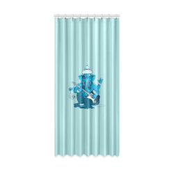 "Ganesha rocks ! Window Curtain 50"" x 108""(One Piece)"