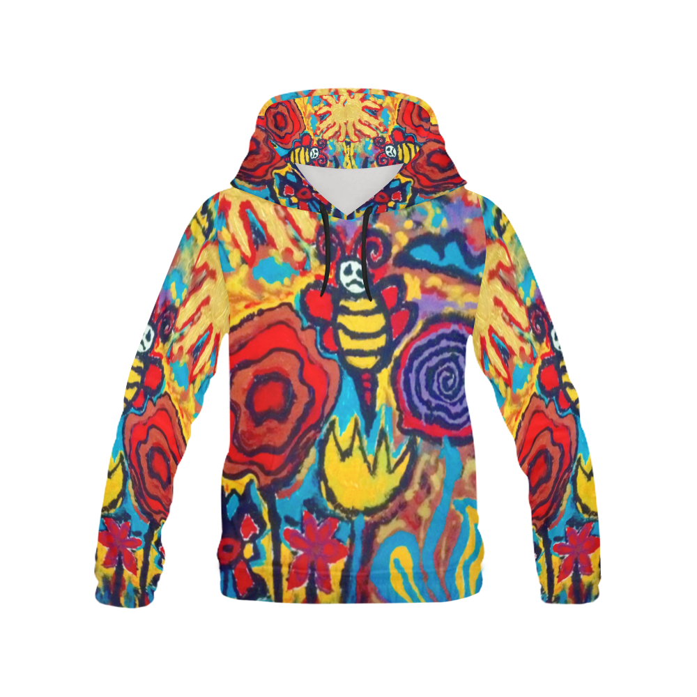 bees nice hooodie All Over Print Hoodie for Men (USA Size) (Model H13)